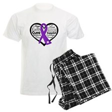 Crohn's Disease Heart Pajamas
