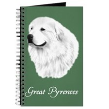 Great Pyrenees Journal, Portrait green