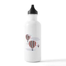 Hot Air Balloon Sky Water Bottle