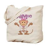 Little Monkey Jamie Tote Bag