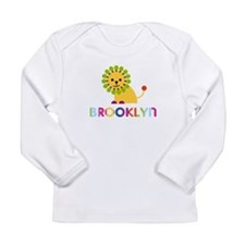 Brooklyn the Lion Long Sleeve Infant T-Shirt