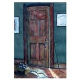 """The Door"" Full-Color Print"