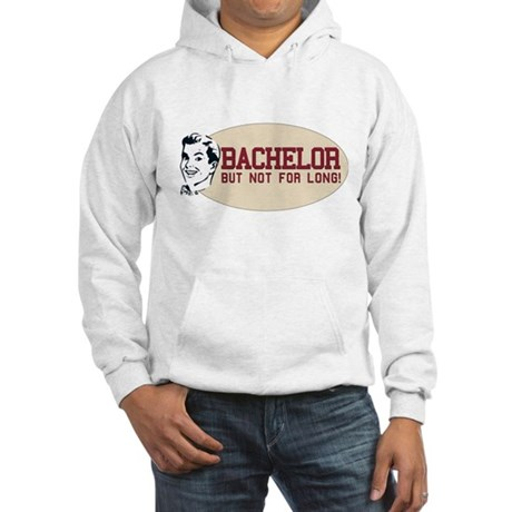Hip Retro Vintage Bachelor Hooded Sweatshirt