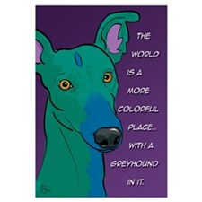 Colorful Greyhound