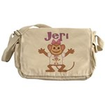 Little Monkey Jeri Messenger Bag