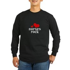 nurses rock (red/black) T