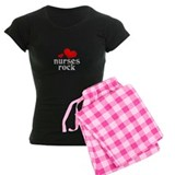 nurses rock (red/black) Pajamas