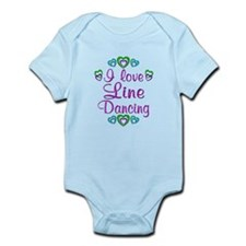 Love Line Dancing Infant Bodysuit