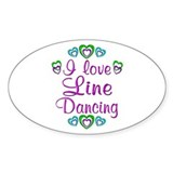 Love Line Dancing Decal