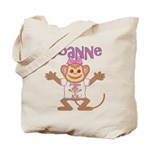 Little Monkey Joanne Tote Bag