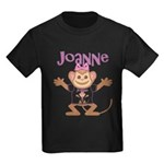 Little Monkey Joanne Kids Dark T-Shirt