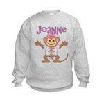 Little Monkey Joanne Kids Sweatshirt