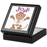 Little Monkey Jodi Keepsake Box