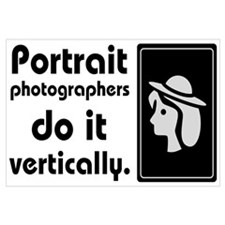 Portrait photographers do it