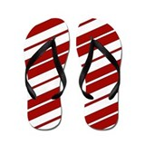 Crimson Pride Flip Flops
