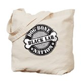 DB Nation Black Lab Tote Bag