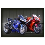 Cute Sportbike Wall Art