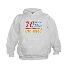 70th Birthday Looks Good Hoodie