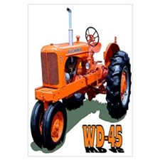 Cute Tractor Wall Art