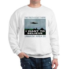 """UFO/Area 51"" Sweatshirt"