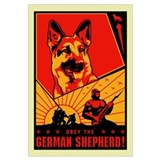 Obey the German Shepherd!