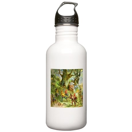 Gnomes, Elves & Forest Fairies Stainless Water Bot