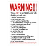 Pain Warning