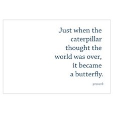 """Caterpillar Proverb"""