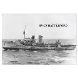 HMCS BATTLEFORD Photo 17 x 11