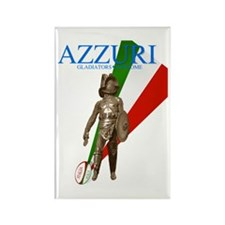 Italys Azzurri Rugby Rectangle Magnet (10 pack)