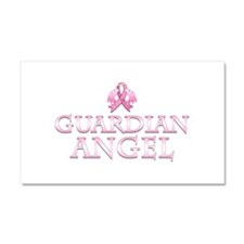 Pink Guardian Angel Car Magnet 20 x 12