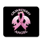 Pink Guardian Angel Mousepad