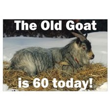 Old Goat is 60 Today