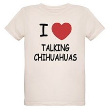 I heart talking chihuahuas T-Shirt