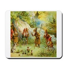 Gnomes, Elves & Forest Fairies Mousepad