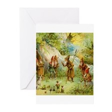Gnomes, Elves & Forest Fairies Greeting Cards (Pk