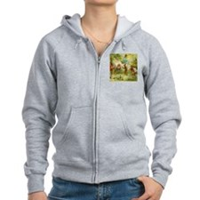 Gnomes, Elves & Forest Fairies Zip Hoodie