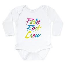 Party Rock Long Sleeve Infant Bodysuit