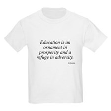 Aristotle quote 22 Kids T-Shirt