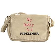 Daddy Pipeliner- Pink Messenger Bag