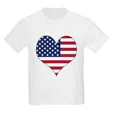 U.S.A. Heart T-Shirt
