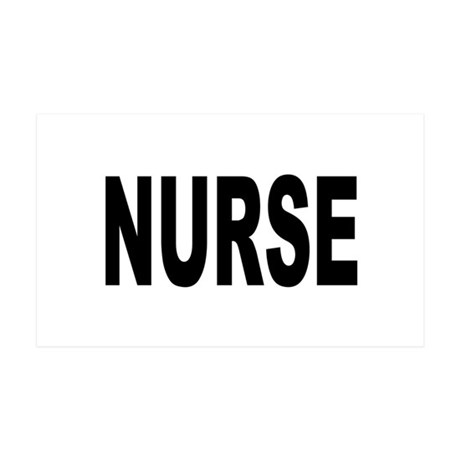Nurse 38.5 x 24.5 Wall Peel