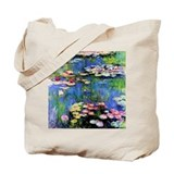 MONET WATERLILLIES Tote Bag