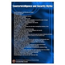 CI and Security Myths 23x35 Poste