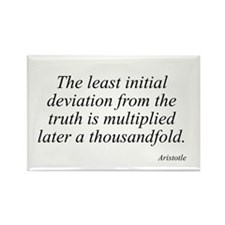 Aristotle quote 82 Rectangle Magnet