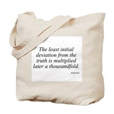 Aristotle quote 82 Tote Bag