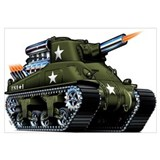 M4 A1 Sherman Tank