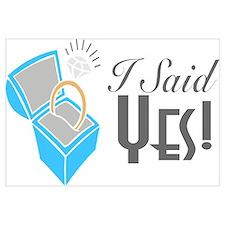 I Said Yes! (Ring Box)