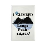 Longs Peak 14,255' Rectangle Magnet