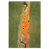Gustav Klimt Abandoned Hope XL
